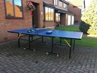 Large Slazenger table tennis table - excellent condition