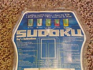 Electronic Hand Held Sudoku Game Excellent Condition Cambridge Kitchener Area image 2