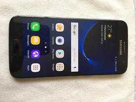 Samsung Galaxy s7 Onyx Black 32gb unlocked camera faulty