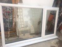 PVC double glazed window for sale