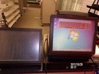 Epos System including till printer and card reader