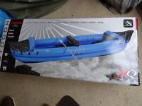 New Boxed inflatable canoe 2 seater... see photo