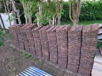 Roof tiles Double Roman