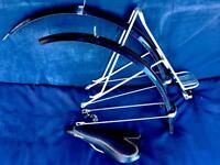 Job lot of touring bike parts, ideal for steel commuter like Kona marin Dawes