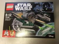 Lego 75168 - Star Wars Yodi's Jedi Starfighter - Brand New in the Box and Sealed