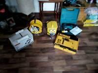 Job lot of 110v power tools