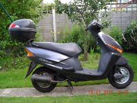 mopeds up to a 125cc wanted