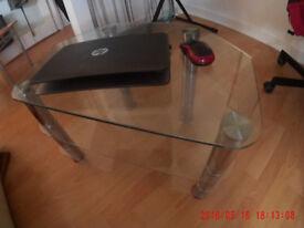 Furniture, house clearance: drawers, glass table, shoe shelf 5£ each