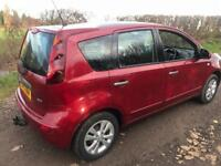 Nissan Note ACENTA 2011 DCI 1.5 dIESEL 89bhp ++ £30 road tax ++ tested till ++ jUNE 2018 ++ tOW bAR