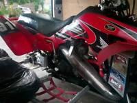 Honda TRX 250r race quad