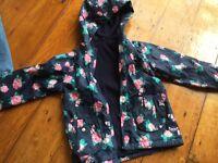 Girls jacket age 4-5