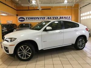 2014 BMW X6 SPORT PKG+NAVI+360 CAMERA+FACTORY WARRANTY+REAR HE