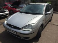 2004 Ford Focus Lx 5dr 1.4 Petrol Silver BREAKING FOR SPARES