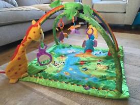 Jungle play gym with sound and lights