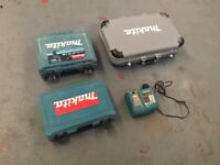 Drill cases and charger