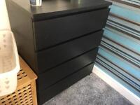 2 chest of drawers and 2 bedside tables