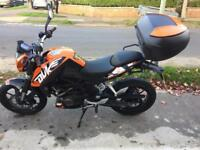 KTM Duke 125 - Low Mileage