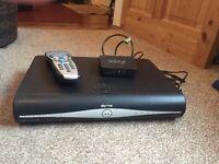 Sky + HD box, remote and Wifi adaptor