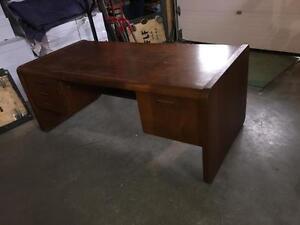 Used Solid Wood Desk
