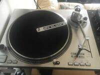 Reloop RP 5000 M3Ds direct drive Dj turntable , mint with cartridge and box