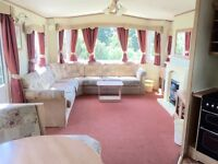 STATIC CARAVAN ROOKLEY COUNTRY PARK FINANCE AVAILABLE ISLE OF WIGHT NEAR THORNESS BAY & LOWER HYDE