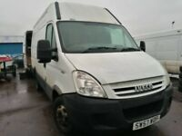 Iveco daily 2.3 3.0 2007 year spare parts available rear axel prop shaft double wheel rear springs