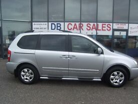 7 SEATER!! 2010 60 KIA SEDONA 2.2 1 CRDI 5d 192 BHP **** GUARANTEED FINANCE **** PART EX WELCOME ***