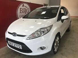Ford Fiesta (white) 2009