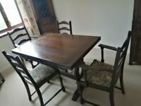 Jaycee Dining Room Table and Chairs