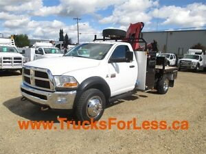2011 dodge RAM 5500 SLT 4X4, PICKER + SERVICE DECK + VMAC!!!!
