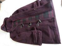 Mens Mauve/Purple Duffle Coat - Galeries Lafayette - Paris