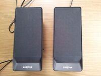Creative A50 speakers USB powered £3