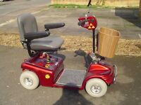 MAYFAIR SHOPRIDER DELUXE MOBILITY SCOOTER IN EXCEPTIONAL CONDITION