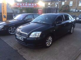 Toyota Avensis 1.8 VVT-i T3-S 5dr, p/x welcome FREE WARRANTY, FULL HISTORY