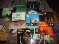 VINYL MIXED LOT..ROSSINI/STRAUSS WALTZES/THOMAS BEACHAM/GUSTAV HOLST ETC