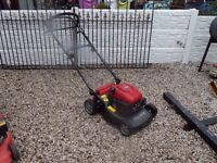 Mounfield Petrol Lawnmower / Lawnmower / Grass Cutter / Garden / Gardening / Strimmer / Outdoors