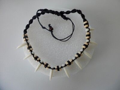 Polynesian Maui Necklace   Shark Teeth    Moanas Movie  Price For One Necklace