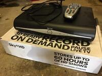 Sky + HD box 250gb version with built in wifi
