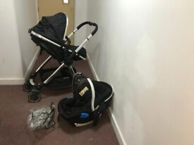 Mothercare Journey 3-in-1 (Pram/Stroller/Car Seat) Travel System