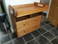 IKEA Leksvik Chest of Drawers with change table