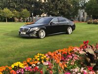 VIP CHAUFFEURING SERVICES WITH THE NEW S 500 AMG FULLY LOADED -TOP OF THE RANGE