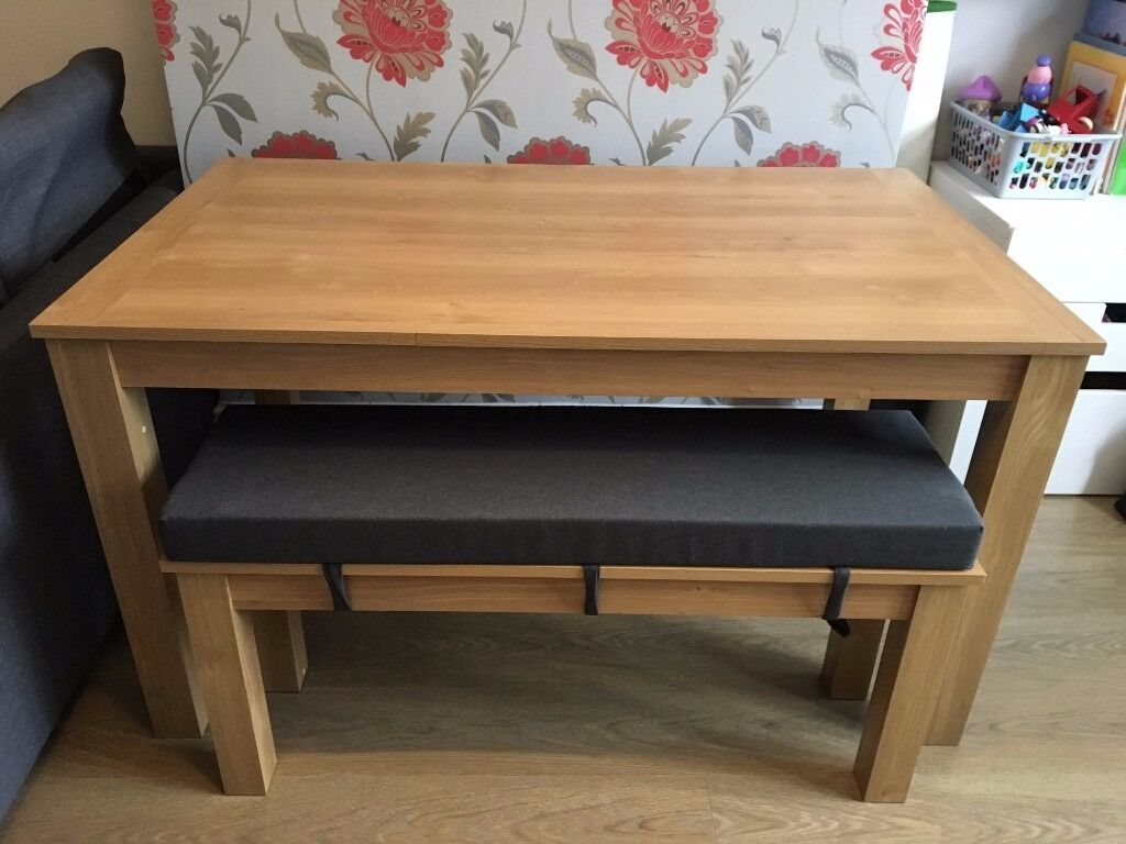 Next malvern dining table and bench set in enfield for Next dining table