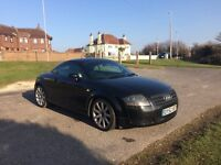 **FOR SALE** Black Audi TT Quattro 2002