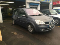 Renault Scenic 1.5 Diesel 5 Door Family Car 2006 Grey Manual 12 Months MOT