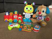 Toy bundle (fisher price and vtech)