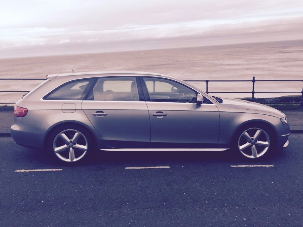 audi a4 b8 avant tdi s line 39 grey 39 2009 fsh cambelt cruise led 39 s xenon 39 s in scarborough. Black Bedroom Furniture Sets. Home Design Ideas