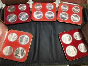 Proof Set Silver Canadian Montreal Olympic Games (1976) 4 Coin Set. $120 EACH.