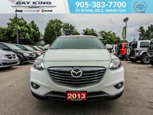 2013 Mazda CX-9 CX 9 GT, GPS NAV, AWD, SUNROOF, BACKUP CAM