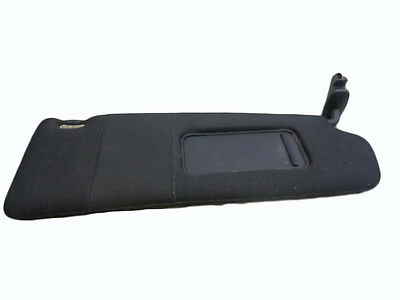 *AUDI TT MK1 8N COUPE 1999-2006 BLACK DRIVER RIGHT SUN VISOR WITH LOOM