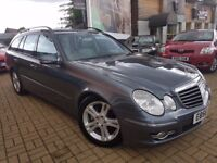 MERCEDES-BENZ E320 3.0 CDI AVANT GRADE (G7) ESTATE 5 DOORS DIESEL AUTO/MANUAL MODE